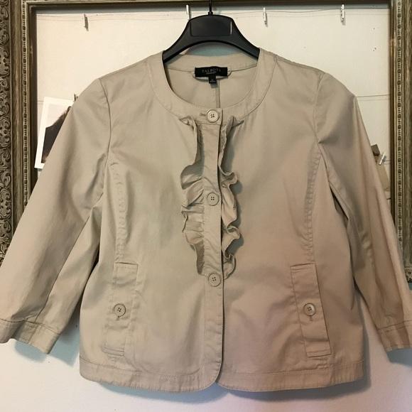 Talbots Jackets & Blazers - Talbots khaki blazer 3/4 length sleeve size 8